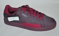 PUMA Men's Match Plum Embossed Leather Fashion Sneaker / Shoes Men's 6.5 NEW
