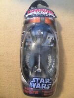 STAR WARS  MicroMachine Titanium Series B-WING STARFIGHTER ALLIANCE FIGHTER NIP