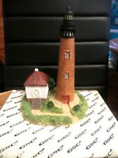 "8 1/2"" Resin Curriituck Beach Nc Lighthouse Figurine"