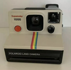 Polaroid Land Camera Supercolor 1000 Bouton Rouge