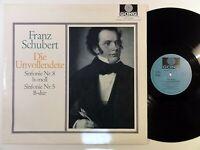8999) LP - Schubert - Die Unvollendete - Sinfonie Nr. 8 / Nr. 5 - Schüchter -