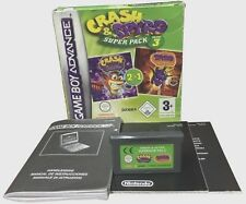 Game Boy Advance GBA **CRASH & SPYRO SUPER PACK VOLUME 3** usato funzionante