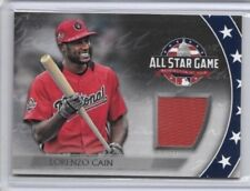 2018 Topps Update Lorenzo Cain Jersey Relic All Star Stitches Brewers AST-LC