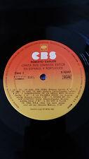 "ROBERTO CARLOS LP VINYL VINILO 12"" ORIGINAL SPANISH EDITION CBS S 32247 - 1982"