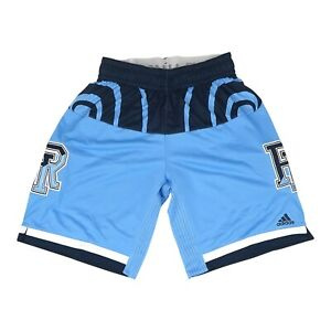Rhode Island Rams Men's Primary Logo Light Blue Basketball Performance Shorts