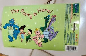 NEW RARE DRAGON TALES PARTY SUPPLIES STATIC CLING WINDOW DECORATION