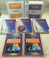 BJU Bob Jones 12th Grade PHYSICS SET 2nd edition Science  Complete Book Set Xtra