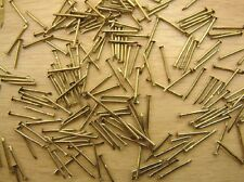 AMATI / EXPO 31090 7mm WOODEN SHIP BUILDING BRASS MODELLING PINS PACK 200 APPROX