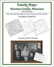 Family Maps Newton County Missouri Genealogy MO Plat