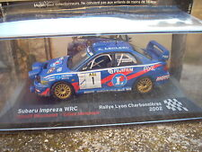 SUBARU IMPREZA WRC RALLYE LYON CHARBONNIERES 2002 SCALE 143