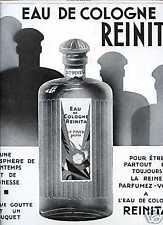Publicité-Parfum: EAU de COLOGNE Reinita , Piver ;1928