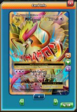FA Mega Pidgeot-EX FULL ART Pokemon TCG ONLINE ( PTCGO digital card )