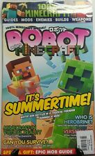 Robot Presents Minecraft It's Summertime Guides Mods Enemies FREE SHIPPING sb