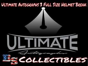 DALLAS COWBOYS 3 BOX Ultimate Autographs Full Size Helmets Break