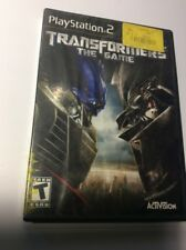 Transformers The Game Ps2 Playstation 2 * Tested Working Free Shipping