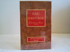 VINTAGE CHRISTIAN DIOR EAU SAUVAGE AFTER SHAVE BALM 100ML MEN'S FRAGRANCE BNIB