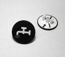 Moeller RMQ22 Einlegeschild für Drucktaster Schwarz Kran  NEU