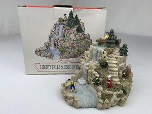"LIBERTY FALLS - AH147 ""Liberty Falls Scenic Overlook"" 1998 - Org Box & packaging"