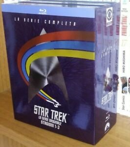 Star Trek la serie originale Stagioni 1-3 cofanetto blu ray