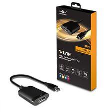 Vantec VLink USB-C to DisplayPort™ 1.2 4K/60Hz Active Adapter