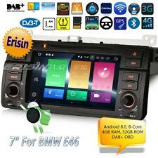 Android 8.0 E46 Autoradio BMW 3 Series MG ZT Rover 75 M3 TNT DAB+ GPS TPMS 7446F
