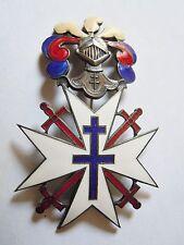 Plaque Ordre de la Croix de Lorraine Résistance FFI FFL FRANCE LIBRE ORIGINAL