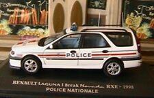 RENAULT LAGUNA I BREAK NEVADA RXE 1998 POLICE NOREV m6 collections 1/43 WHITE