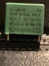 0.1 Uf 250vac Class X2, Metallized Polypropylene Film Cap. Pkg Of 20 Each.