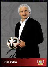 Rudi Völler Bayer Leverkusen 2005-06 1. scheda originale firmato + a 82910