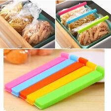 5x Food Snack Bag Storage Sealer Clamp Freezer Nevera Bolsa Sellado Clips11cm VP