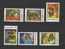 le cirque  ROUMANIE 1994 série de 6 timbres oblitérés / T1720