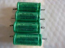 4UF 350 V DC Tcc Condensateurs électrolytiques new old stock