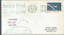 1962 Aerobee Rocket Launch into the Atlantic
