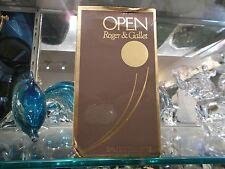 OPEN Roger & Gallet eau de toilette 100 ml ORIGINAL RARE VINTAGE PERFUME
