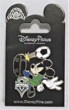 Disney Mickey Soccer Player MLS Seattle Sounders FC Football Team Pin RETIRED