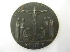 """Interesantes medalla de hierro de e.g. """"el señor bendice la cosecha"""" 1917!"""