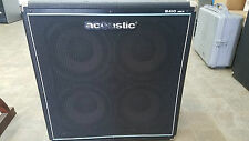 Acoustic B410 MKII 600W Bass Guitar Cabinet