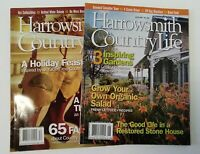A pair of Harrowsmith Country Life Magazines June & December 2007 No. 194 & 197
