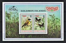 SOLOMON ISLANDS 1997 CHRISTMAS BIRDS BUTTERFLIES CHINA STAMP BANGKOK MNH