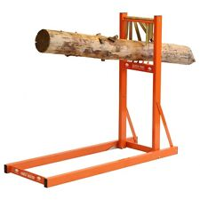 SAW HORSE WOOD LOG HOLDER CHAINSAW TIMBER CUTTING QUICK FIRE FAST LOADING
