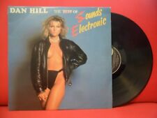DAN HILL The Best Of Sounds Electronic LP CHEESECAKE SEXY NUDE COVER ART UK RARE