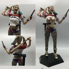DC Crazy Toys Suicide Squad Harley Quinn 1/6TH Real Clothes 12'' PVC Figure New