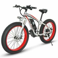 """Electric Bike Beach Snow Bicycle 26"""" 350W48V13AH Fat Tire Electric Bicycle"""