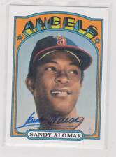 2016 Topps Archives 65th Anniversary Sandy Alomar Autograph Angels