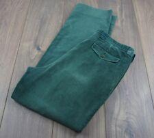 VINTAGE 100% autentico in velluto a coste BURBERRY Cord Pantaloni (adatto W34-36 - L32)