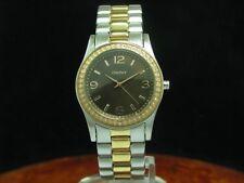 DKNY Gold Mantel / Edelstahl Damenuhr / Ref NY-8479