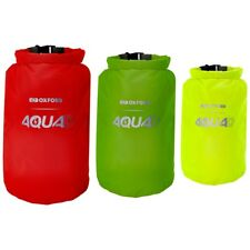 Oxford Motorcycle Aqua D Waterproof Packing Cubes x 3 Red Green Yellow OL901 - T