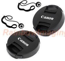 2 Packs 49mm Snap-On Front Lens Cap Keeper for CANON EF 50mm f/1.8 STM Lens