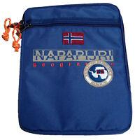 Porta Tablet Uomo Donna Napapijri Bag Woman Men North Cape Slg Holder N3Z08 BLU