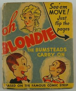 Better Little Book #1419 - Oh Blondie: The Bumsteads Carry On 1941 Whitman FLIP
